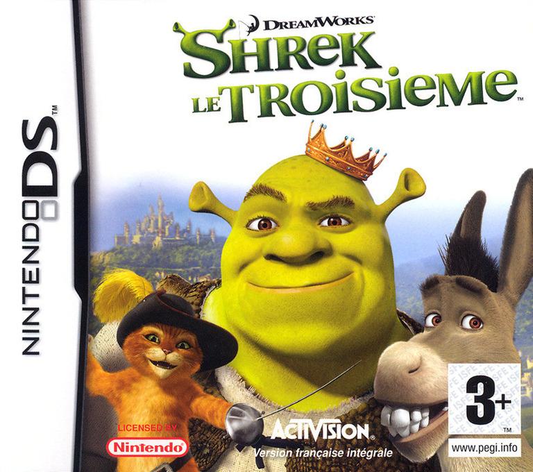 Shrek le Troisieme DS coverHQ (A3SF)