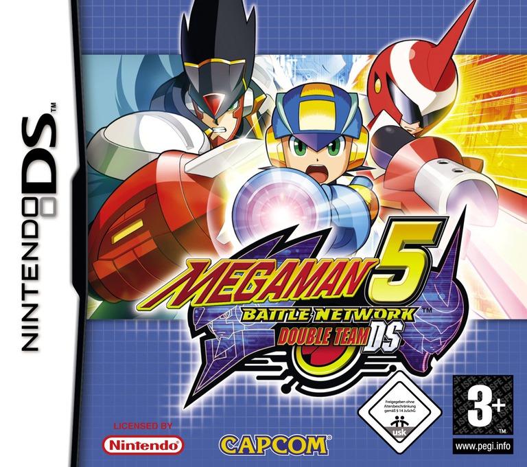 Mega Man Battle Network 5 - Double Team DS DS coverHQ (A5TP)