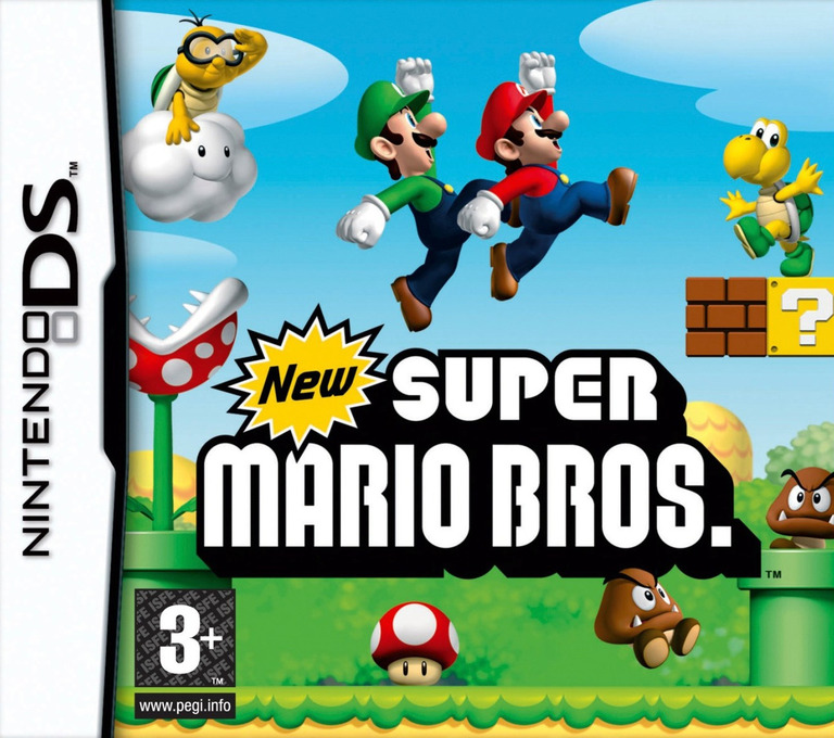 New Super Mario Bros. (Demo) DS coverHQ (A85P)