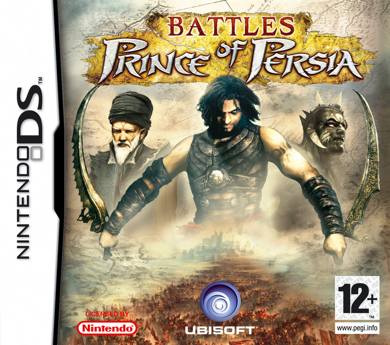 Battles of Prince of Persia DS coverHQ (AB2P)
