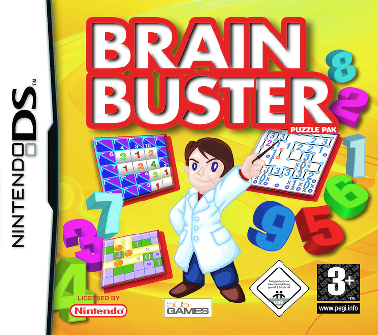 Brain Buster - Puzzle Pak DS coverHQ (ACPP)