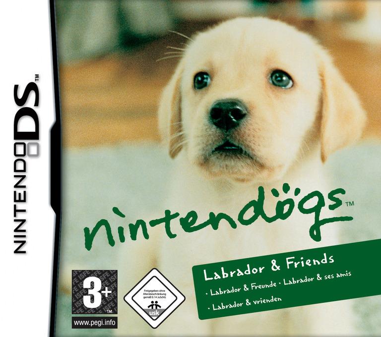 Nintendogs - Labrador & Friends DS coverHQ (AD3P)