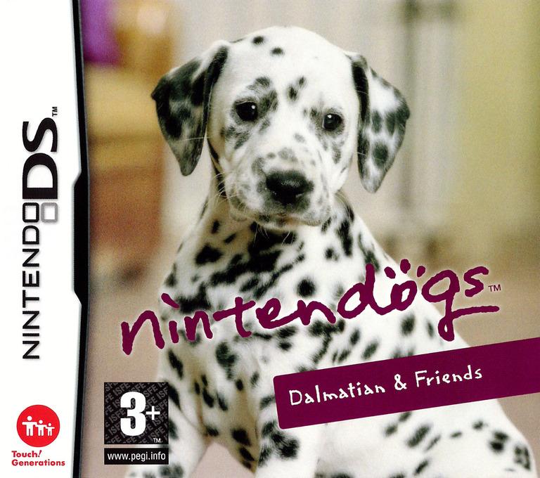 Nintendogs - Dalmatian & Friends DS coverHQ (AD7P)