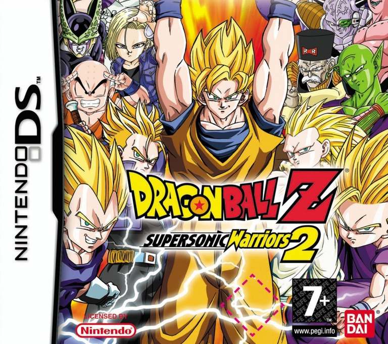 Dragon Ball Z - Supersonic Warriors 2 DS coverHQ (ADBP)