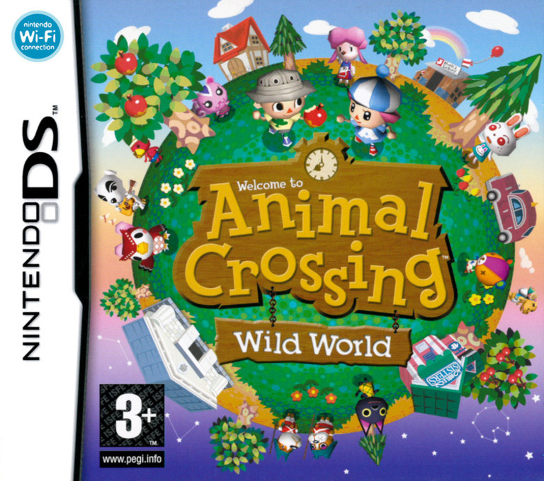 Animal Crossing - Wild World DS coverHQ (ADMP)