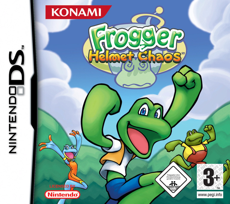 Frogger - Helmet Chaos DS coverHQ (AFGP)
