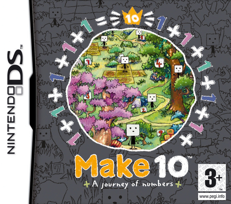 Make 10 - A Journey of Numbers DS coverHQ (AIOP)