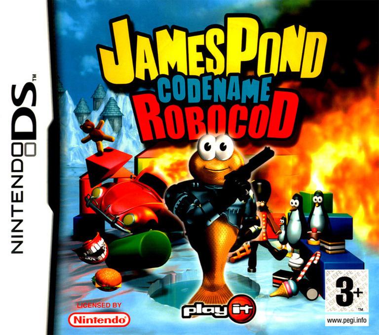 James Pond - Codename Robocod DS coverHQ (AJPP)