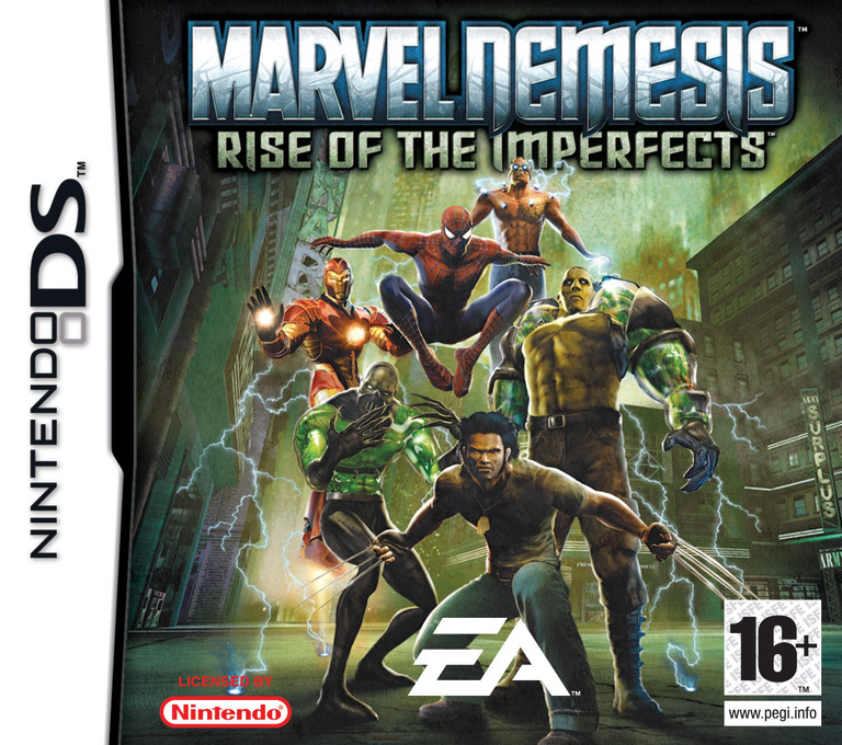Marvel Nemesis - Rise of the Imperfects DS coverHQ (AMVP)