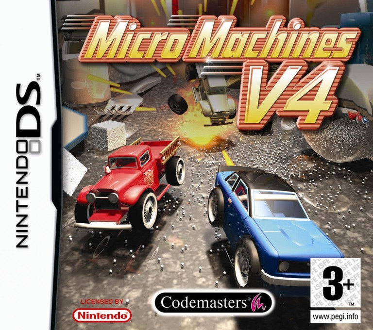 Micro Machines V4 DS coverHQ (AMWP)