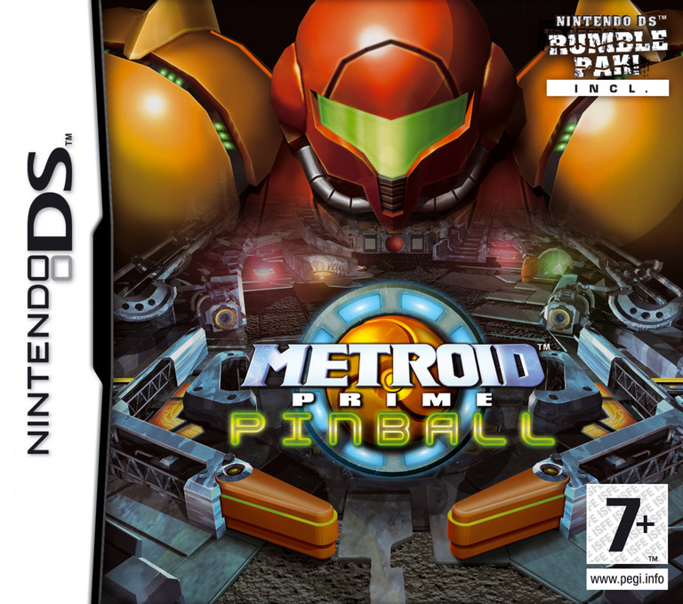 Metroid Prime Pinball DS coverHQ (AP2P)