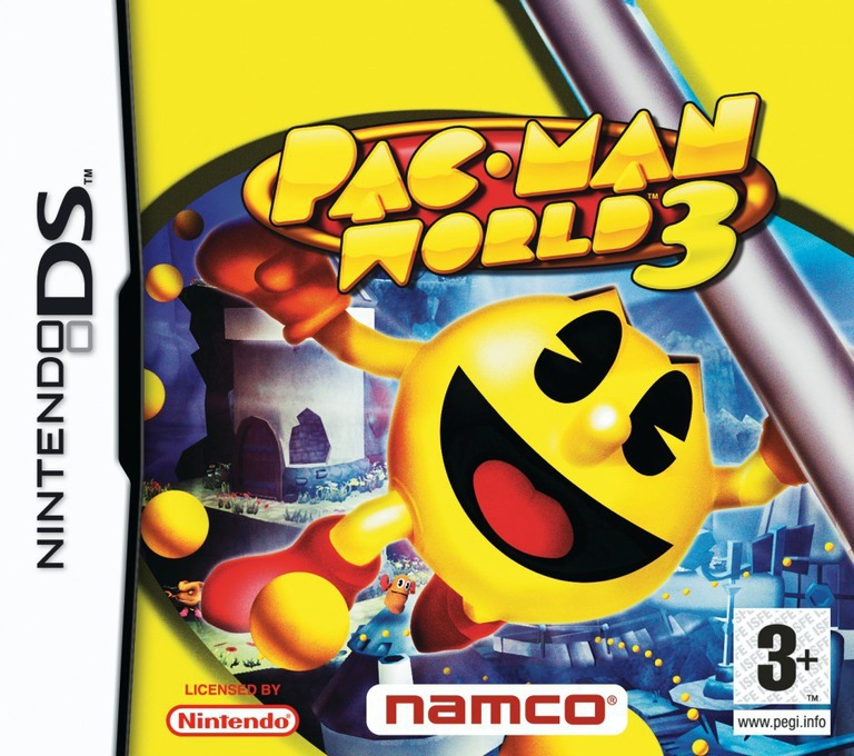 Pac-Man World 3 DS coverHQ (APWP)