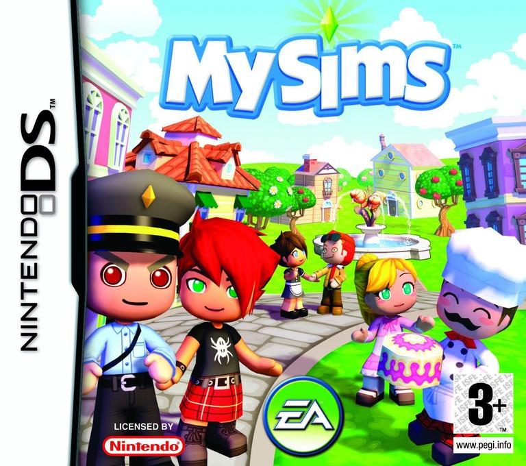 MySims DS coverHQ (AQIP)