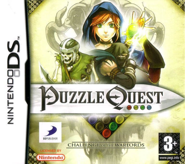 Puzzle Quest - Challenge of the Warlords DS coverHQ (AQWP)