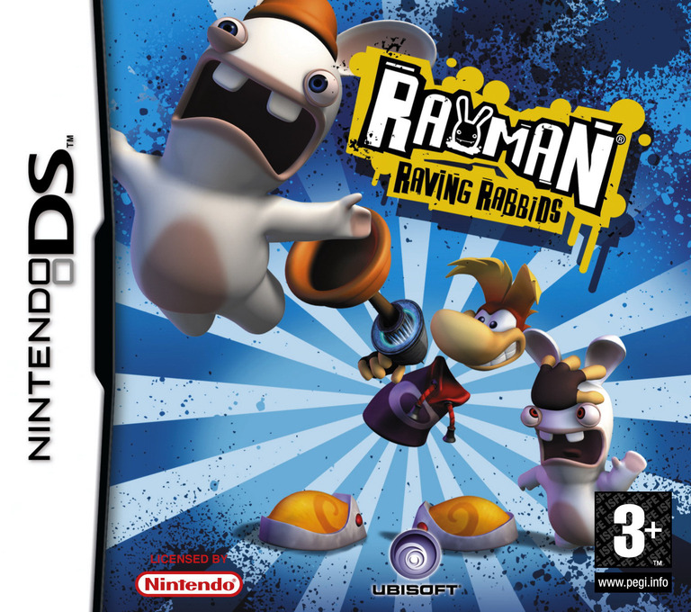 Rayman - Raving Rabbids DS coverHQ (AR5P)