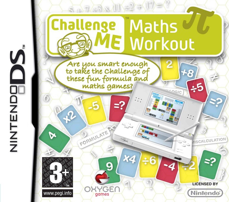 Challenge Me - Maths Workout DS coverHQ (AR6P)