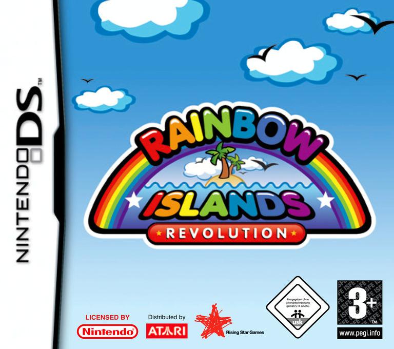 Rainbow Islands Revolution DS coverHQ (ARIP)