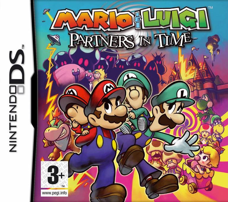 Mario & Luigi - Partners in Time DS coverHQ (ARMP)