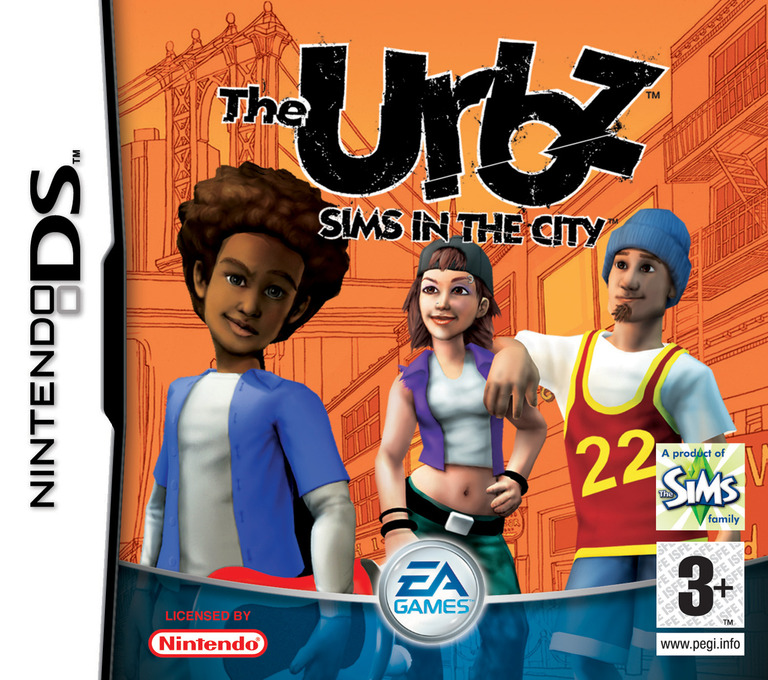 The Urbz - Sims in the City DS coverHQ (ASIP)