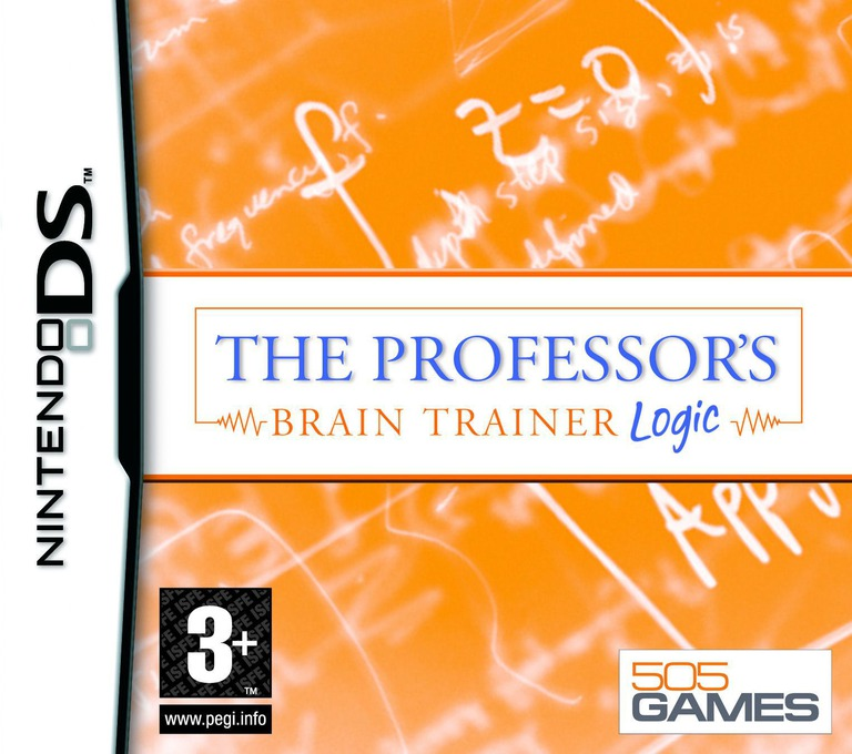 The Professor's Brain Trainer - Logic DS coverHQ (AUTP)