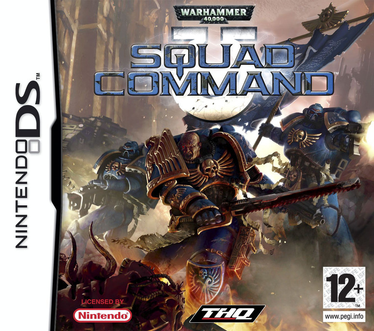 Warhammer 40,000 - Squad Command DS coverHQ (AW4X)