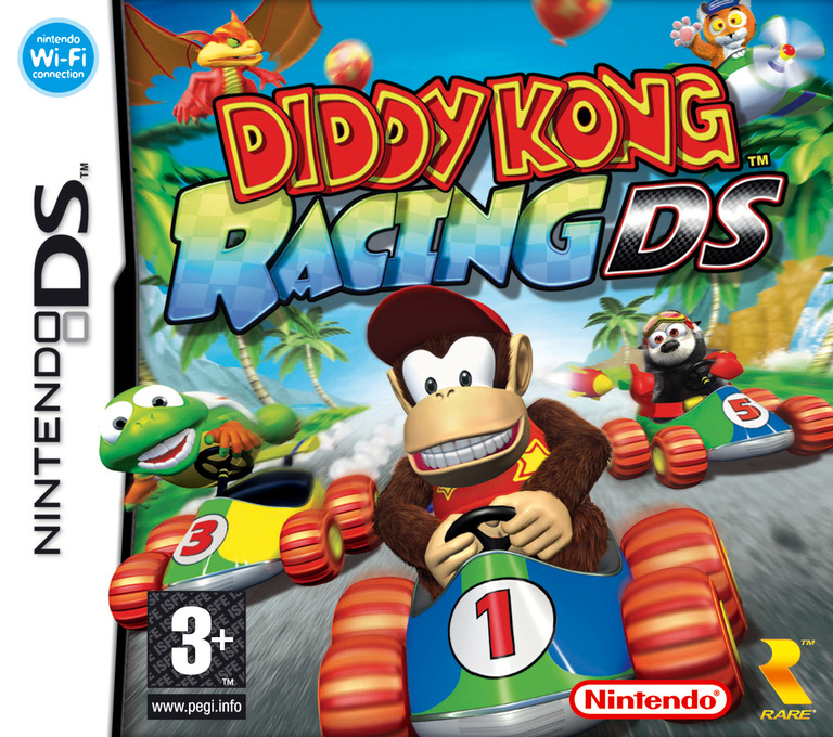 Diddy Kong Racing DS DS coverHQ (AWDP)