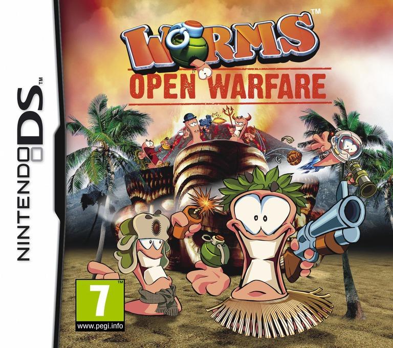 Worms - Open Warfare DS coverHQ (AWSP)