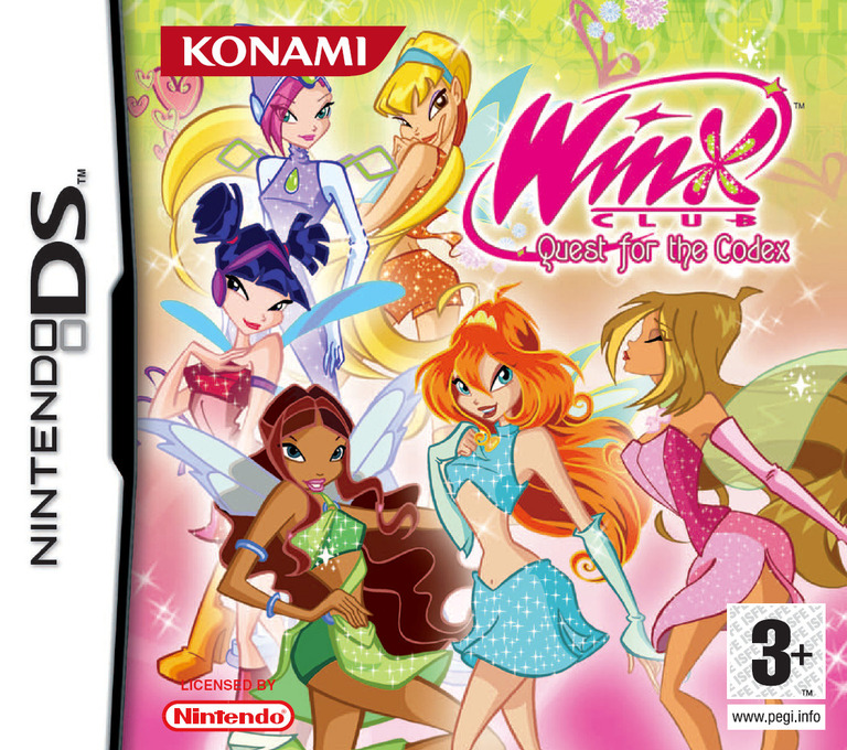 Winx Club - Quest for the Codex DS coverHQ (AWXP)