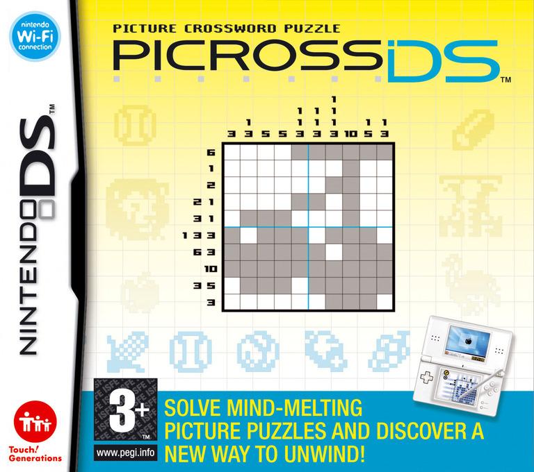 Picross DS DS coverHQ (AXPP)