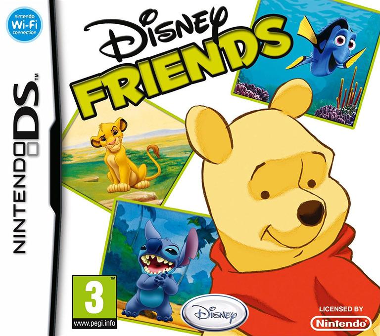 Disney Friends DS coverHQ (AXVP)