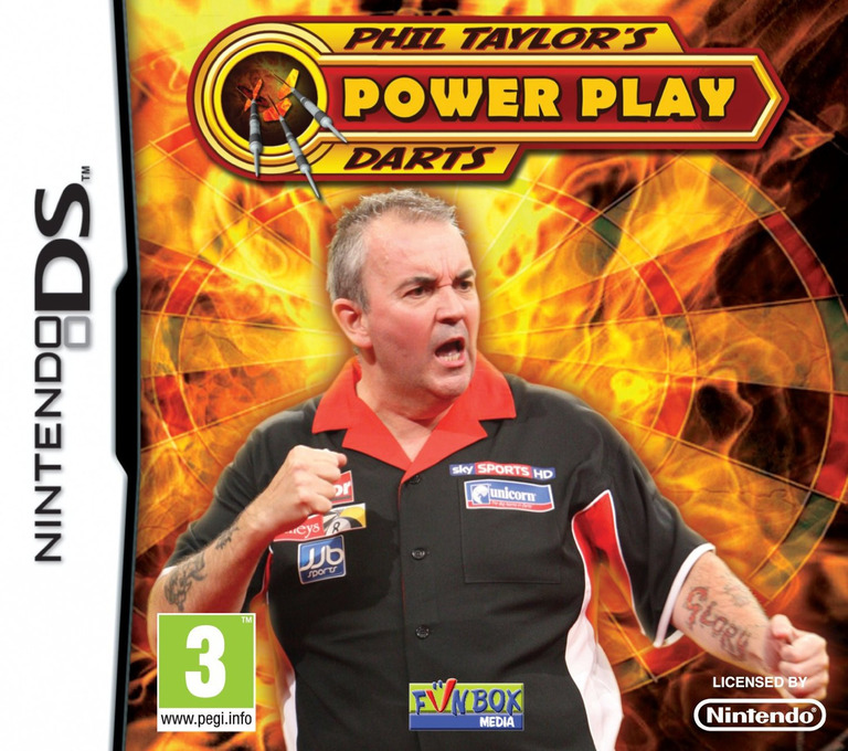 Phil Taylor's Power Play Darts DS coverHQ (B26P)