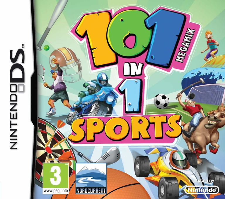 101 in 1 Sports Megamix DS coverHQ (B2NP)