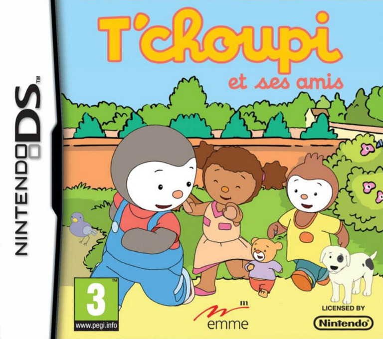 T'choupi et Ses Amis DS coverHQ (B2TF)
