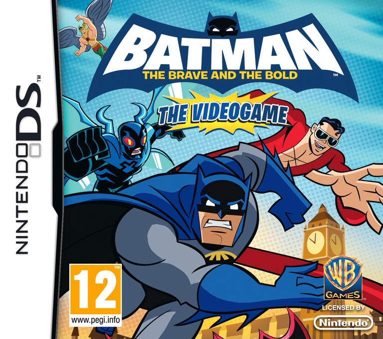 Batman - The Brave and the Bold - The Videogame DS coverHQ (B3BP)