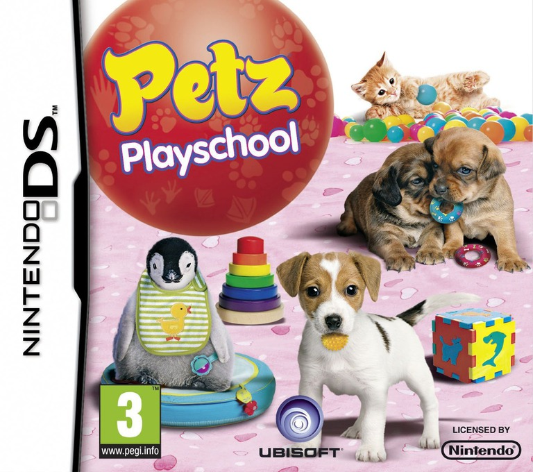Petz - Playschool DS coverHQ (B3UP)