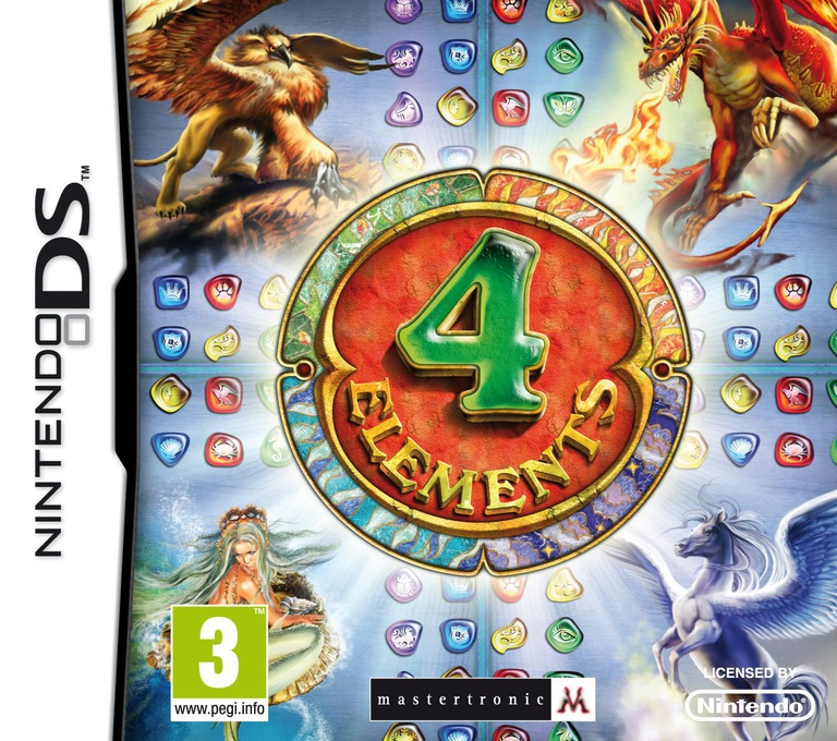 4 Elements DS coverHQ (B4EX)