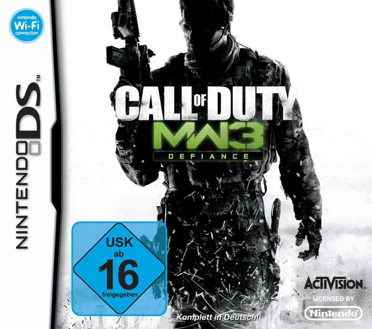 Call of Duty - Modern Warfare 3 - Defiance DS coverHQ (B5BD)