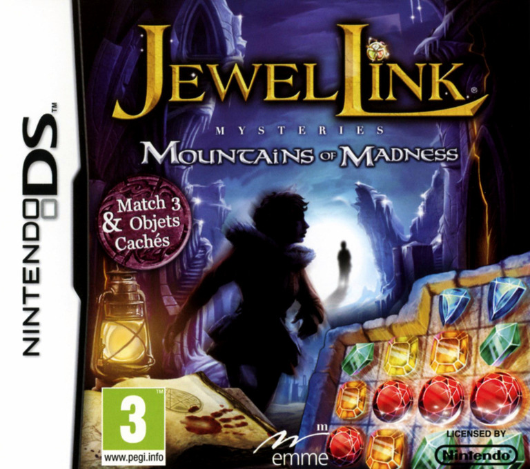 Jewel Link Mysteries - Mountains of Madness DS coverHQ (B5YP)