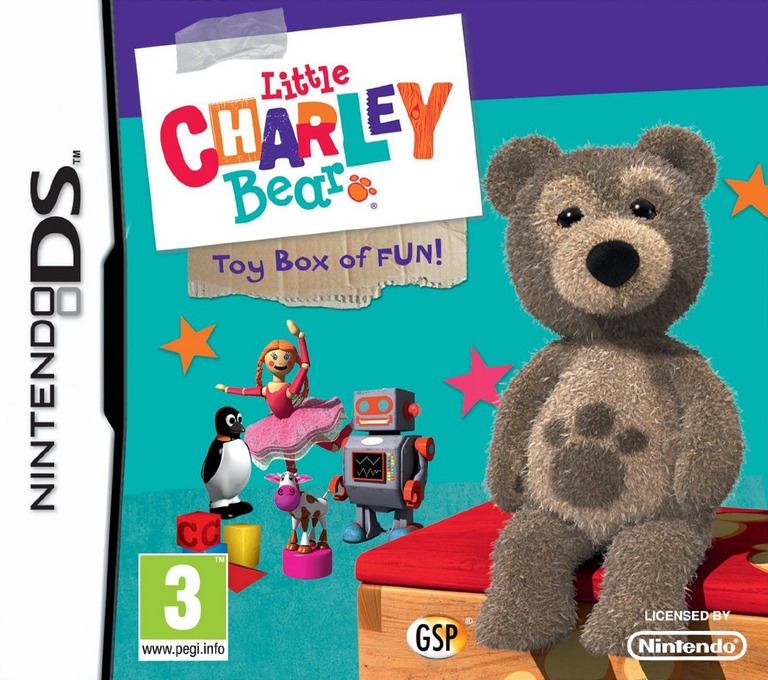 Little Charley Bear - Toybox of Fun DS coverHQ (B68P)