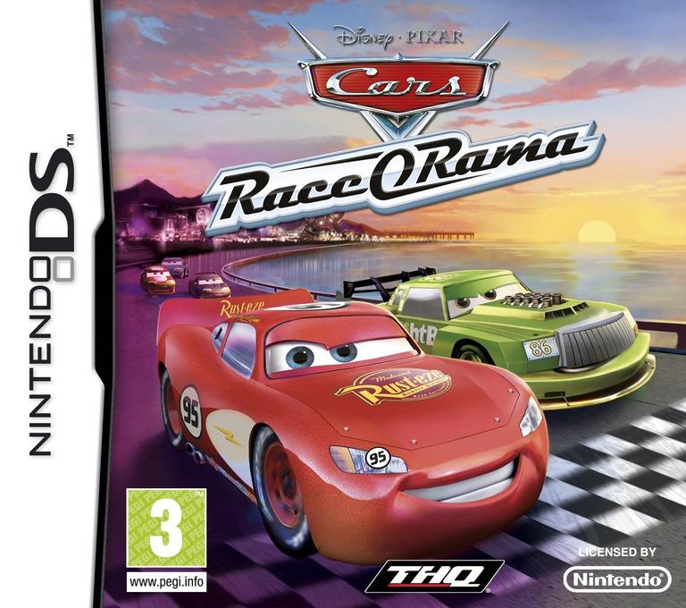 Cars - Race-O-Rama DS coverHQ (B6OP)