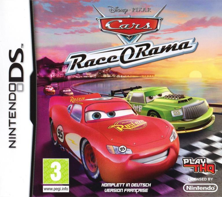Cars - Race-O-Rama DS coverHQ (B6OX)