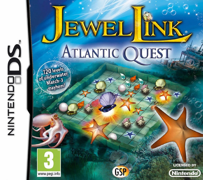 Jewel Link - Atlantic Quest DS coverHQ (B6QP)