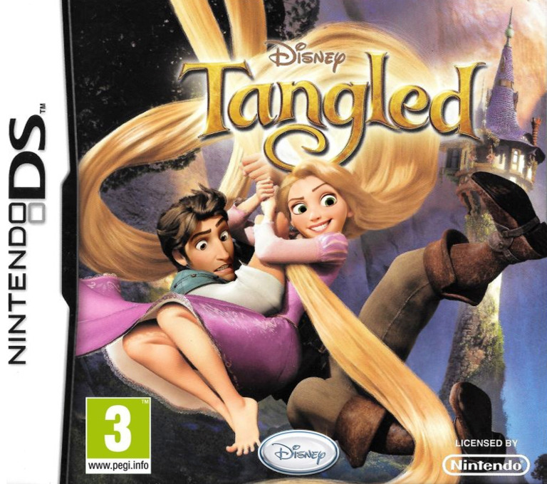 Tangled DS coverHQ (B6TP)