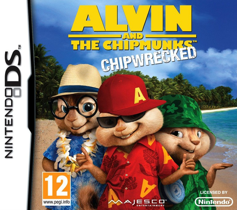 Alvin and the Chipmunks - Chipwrecked DS coverHQ (B7ZX)