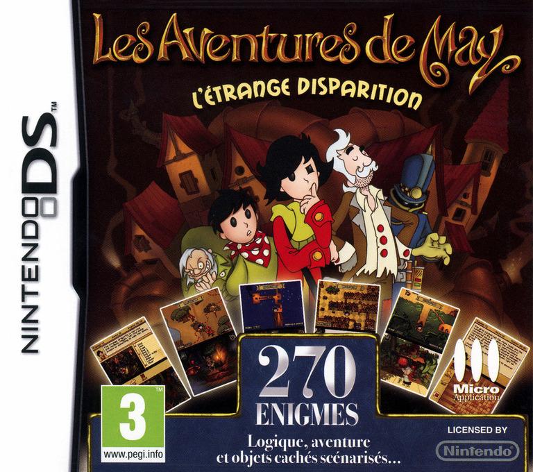 Les Aventures de May - L'Etrange Disparition DS coverHQ (B8HF)