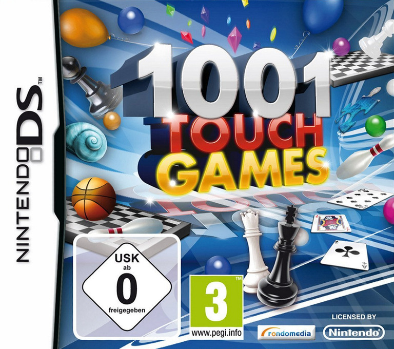 1001 Touch Games DS coverHQ (B8KD)