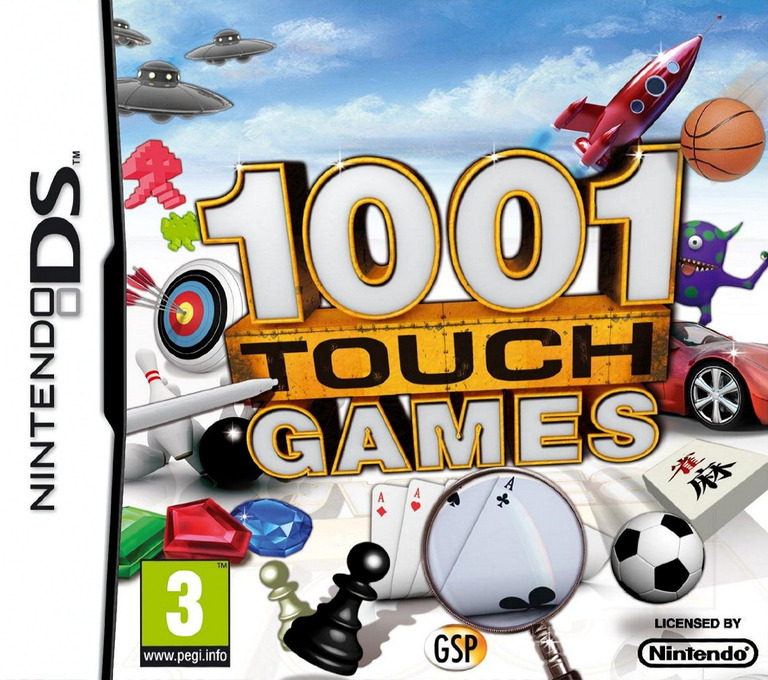 1001 Touch Games DS coverHQ (B8KP)