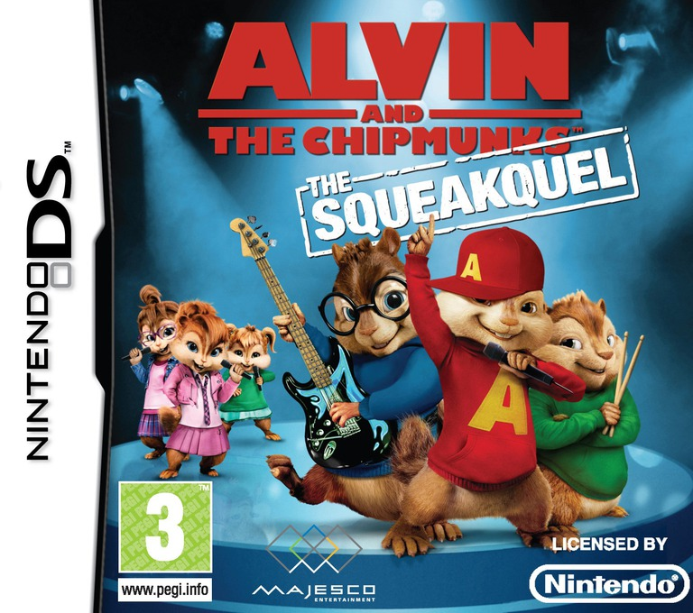 Alvin and the Chipmunks - The Squeakquel DS coverHQ (BAVX)