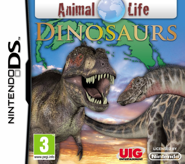 Animal World - Dinosaurs DS coverHQ (BAWP)