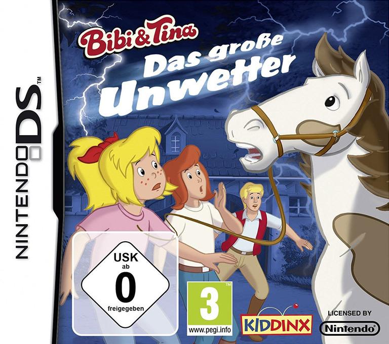 Bibi & Tina - Das Grosse Unwetter DS coverHQ (BBED)
